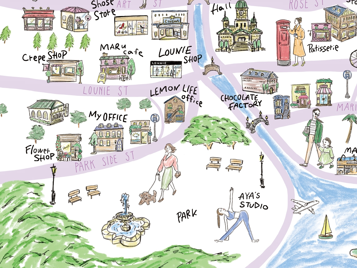 lounie-town_spring-area