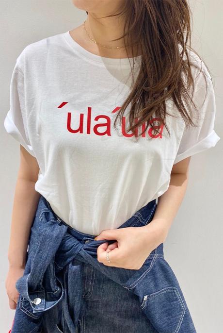 BAG付きロゴTシャツ